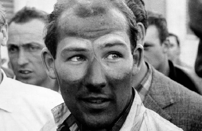 Stirling Moss alla Mille Miglia del 1955