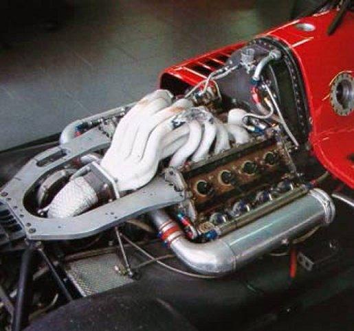 Propulsore V8 Formula Cart