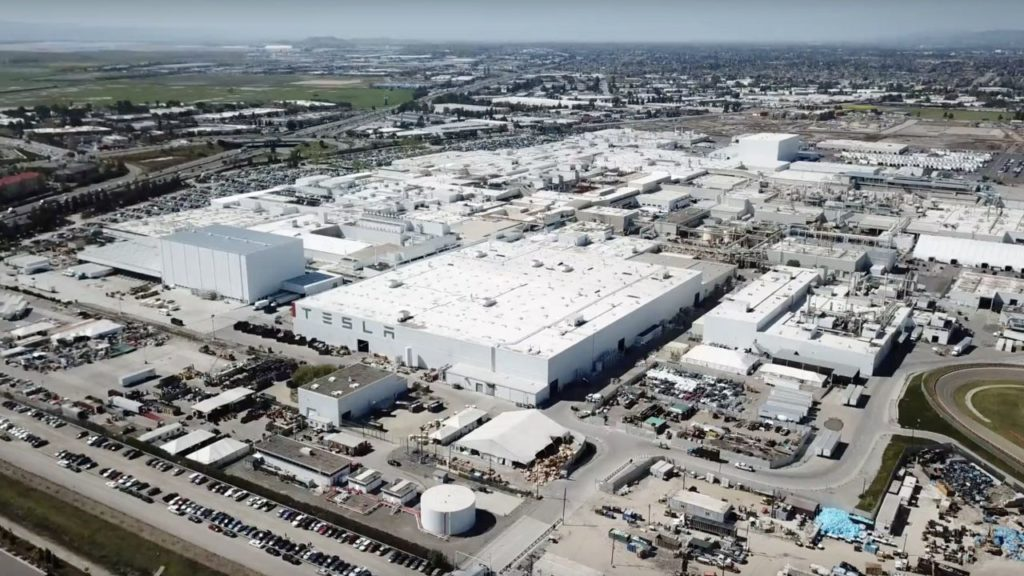 Automotive: fabbrica Tesla di Fremont (USA)