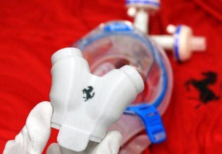 Valvole Ferrari per respiratori polmonari, un aiuto da Maranello
