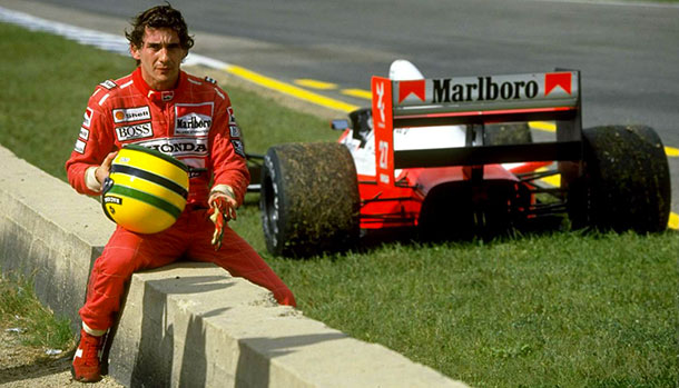 Ayrton Senna incidente