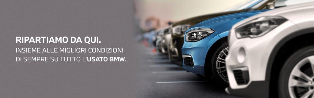 La homepage del sito BMW Group Usato Store