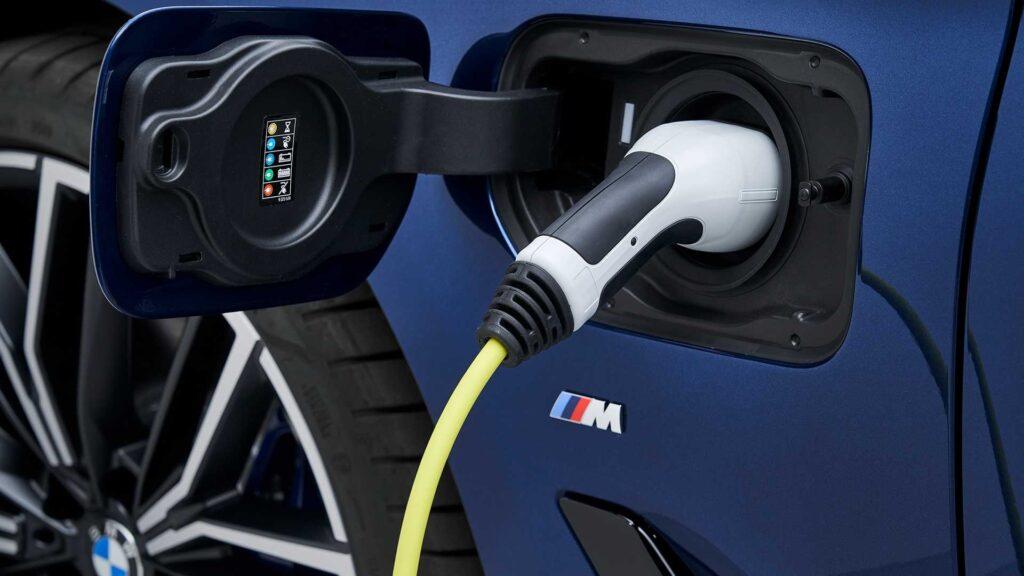 Presa di ricarica della BMW 530e