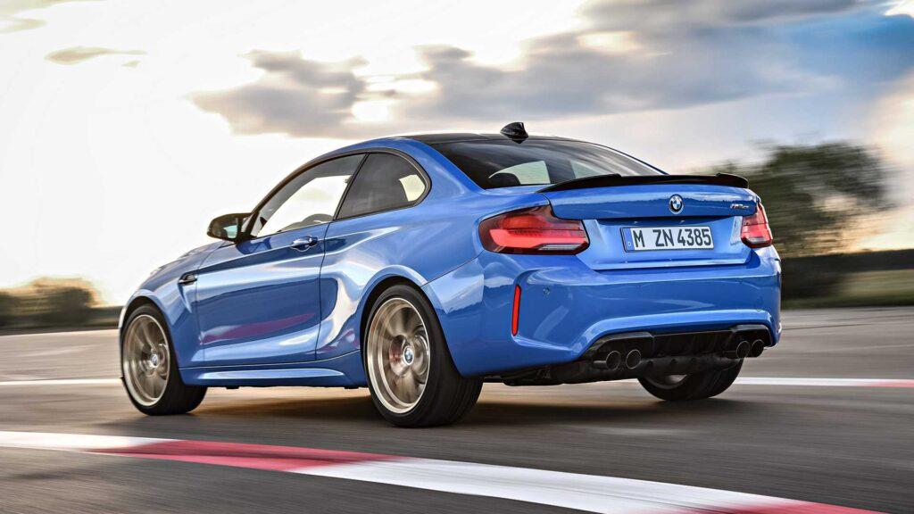 BMW M2, tre quarti posteriore