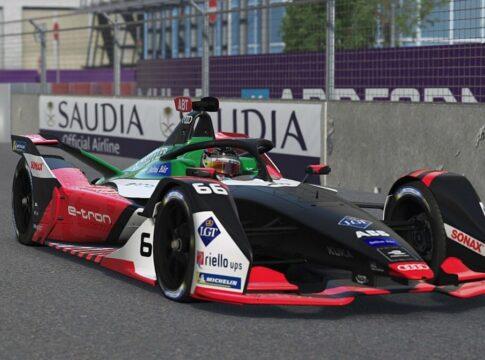 Formula E: Daniel Abt si fa sostituire da un simdriver nella gara virtuale. Multato e squalificato