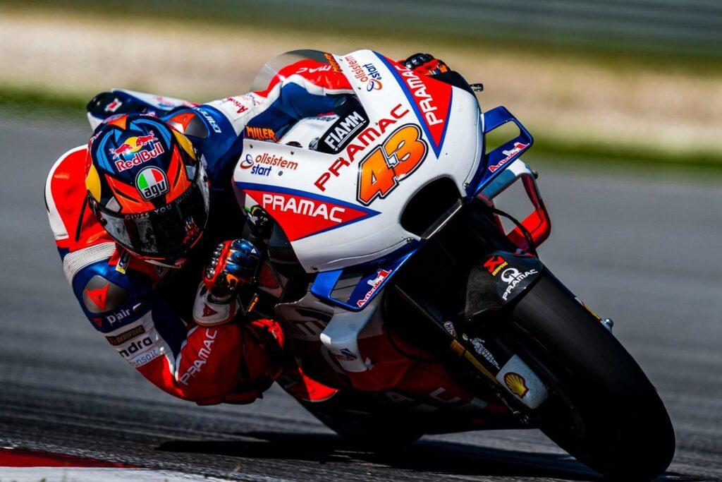 Jack Miller in sella alla Ducati Pramac nei test di Sepang 2019