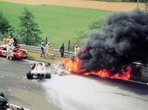 Niki Lauda incidente al Nurburgring