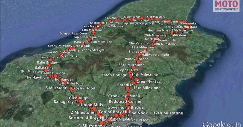 Tourist Trophy isola di Man Mountain Circuit