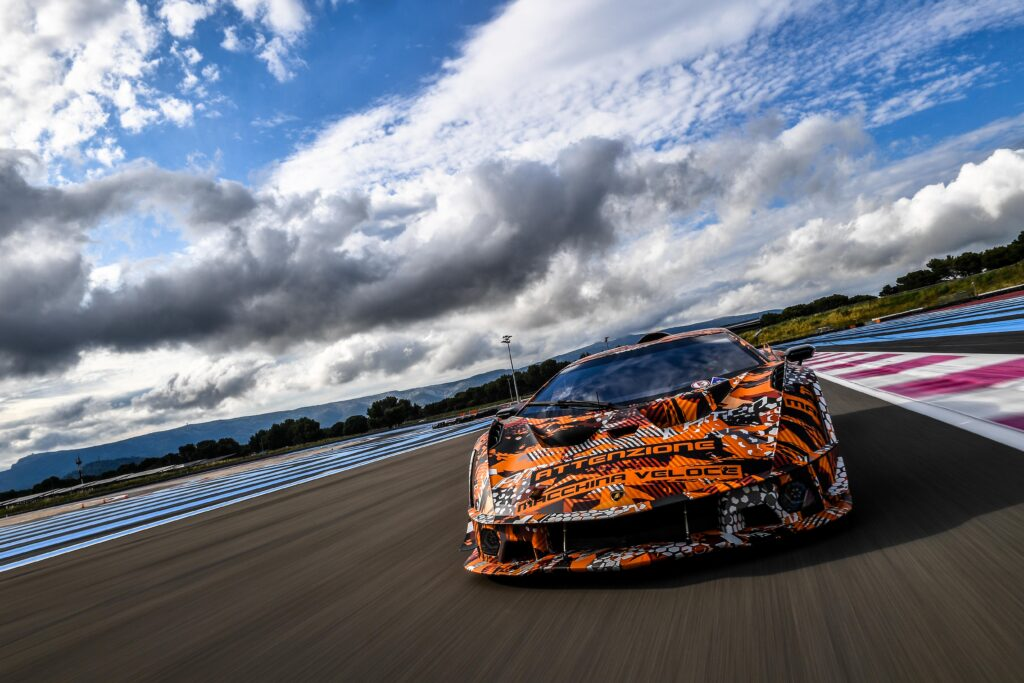 Nuova Lamborghini SCV12