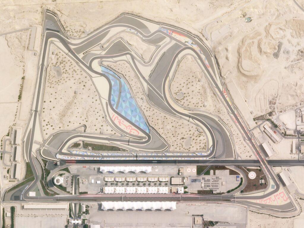 Circuito di Manama, sede del GP del Bahrain