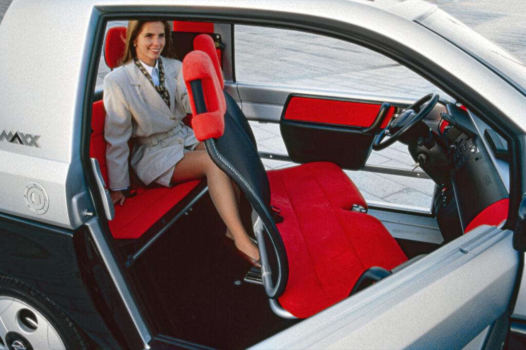 Sedili della Opel MAXX