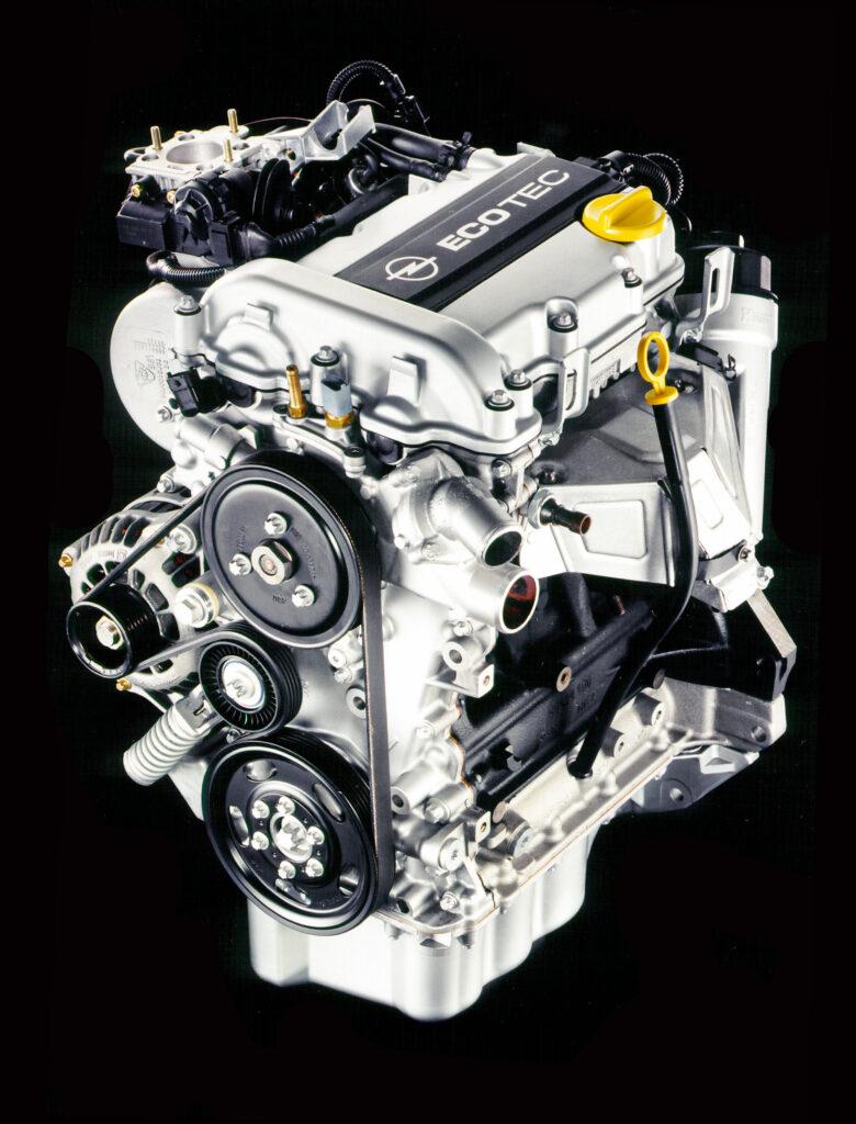 Motore 3 cilindri della Opel MAXX