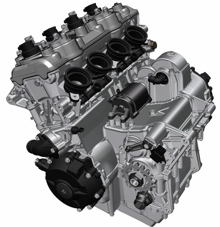 BMW S1000 XR motore
