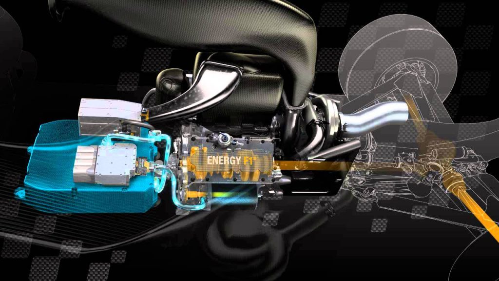MGU-H della Renault