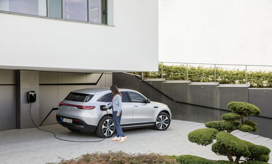 Mercedes elettrica ricarica condominio