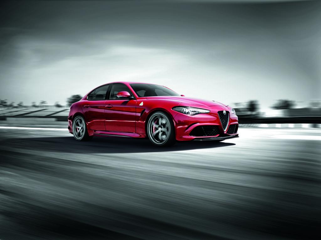 V6 Alfa Romeo Giulia QV