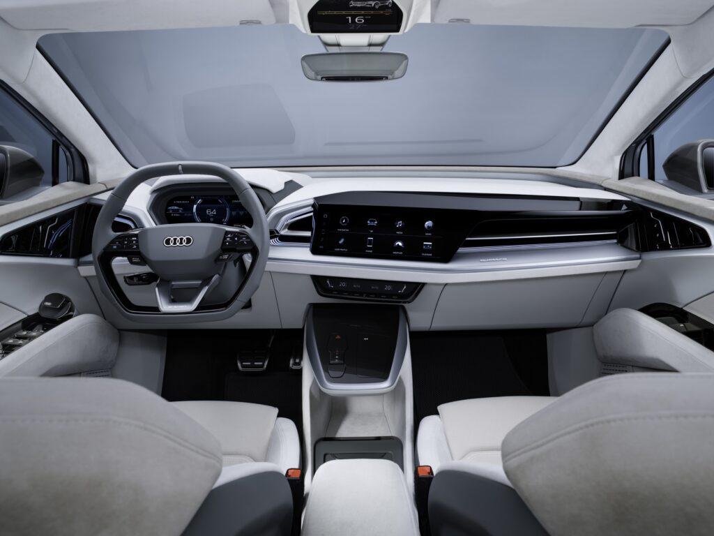Gli interni Audi