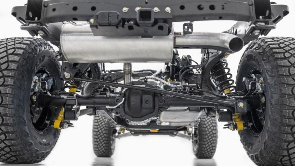 Chassis posteriore della Ford Bronco