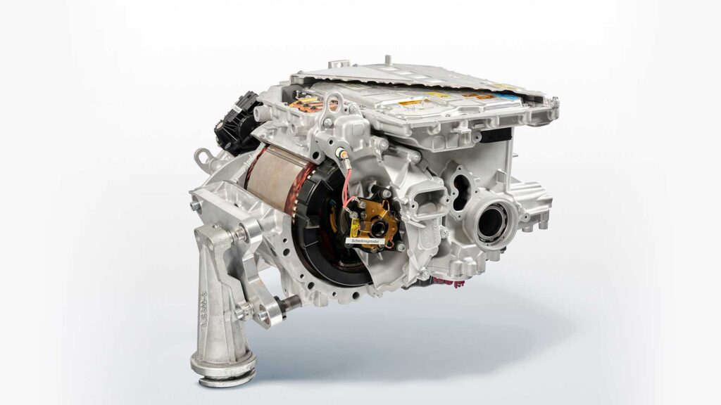 Il powertrain della BMW iX3
