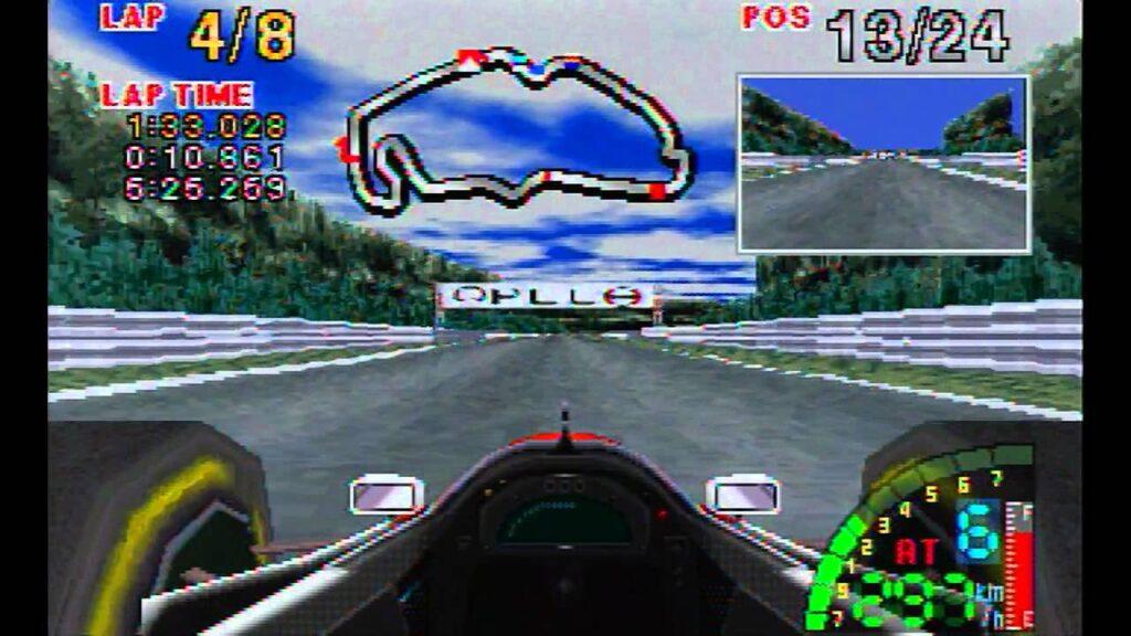 F1 Challenge per Sega Saturn