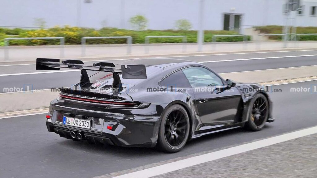 next gen GT3 RS Porsche 992