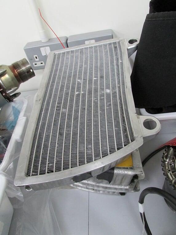 """Il """"radiatore"""" dell'ERS"""