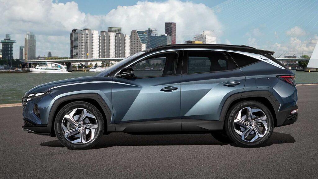 Fiancata della nuova Hyundai Tucson 2021