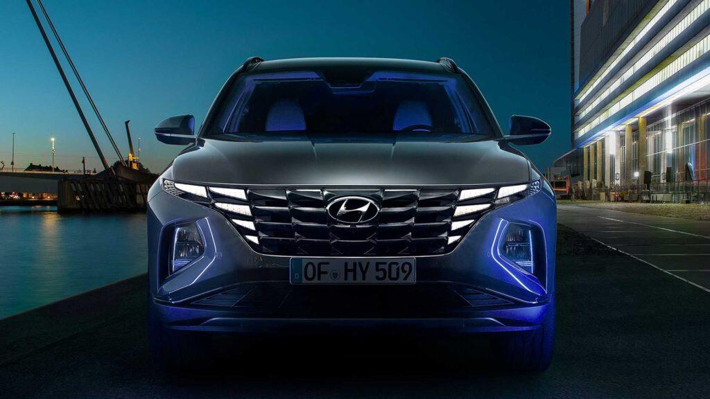 I gruppi ottici Parametric Hidden Lights della nuova Hyundai Tucson 2021