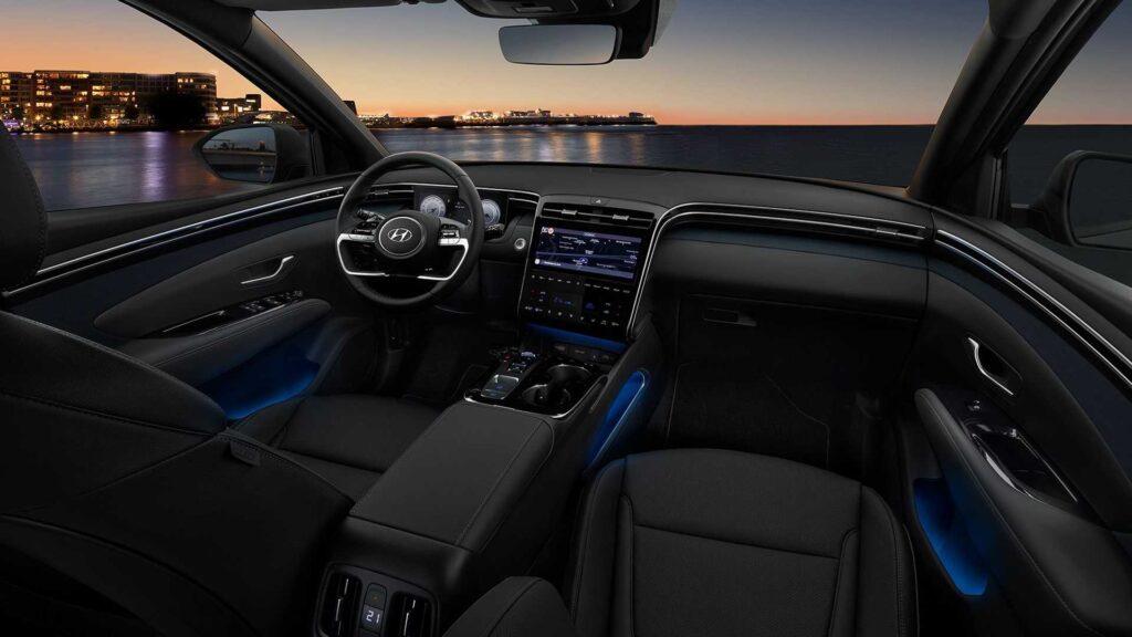 Abitacolo nuova Hyundai Tucson 2021