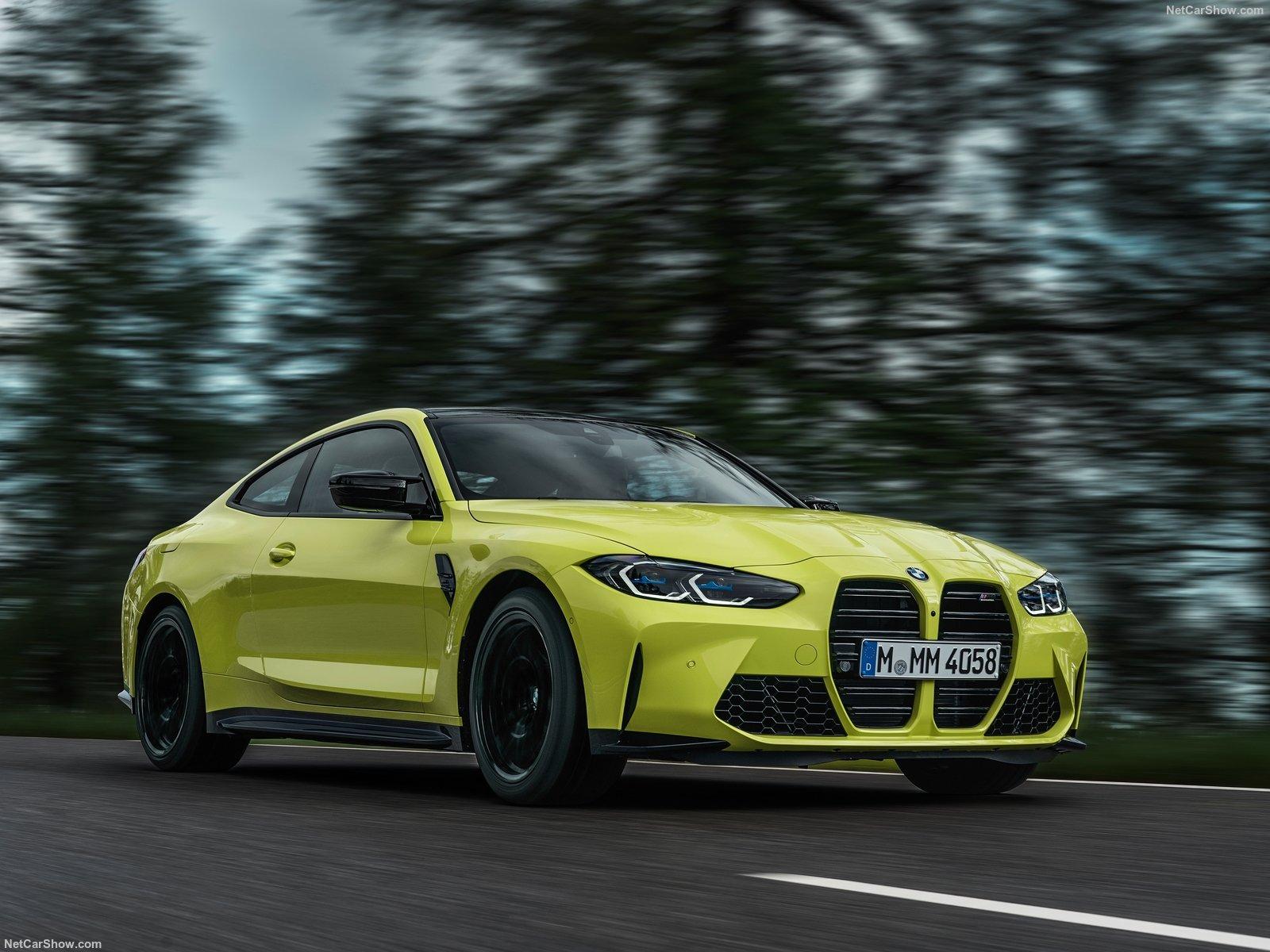 Nuova BMW M4 Coupe Competition: la berlina da 510 cv