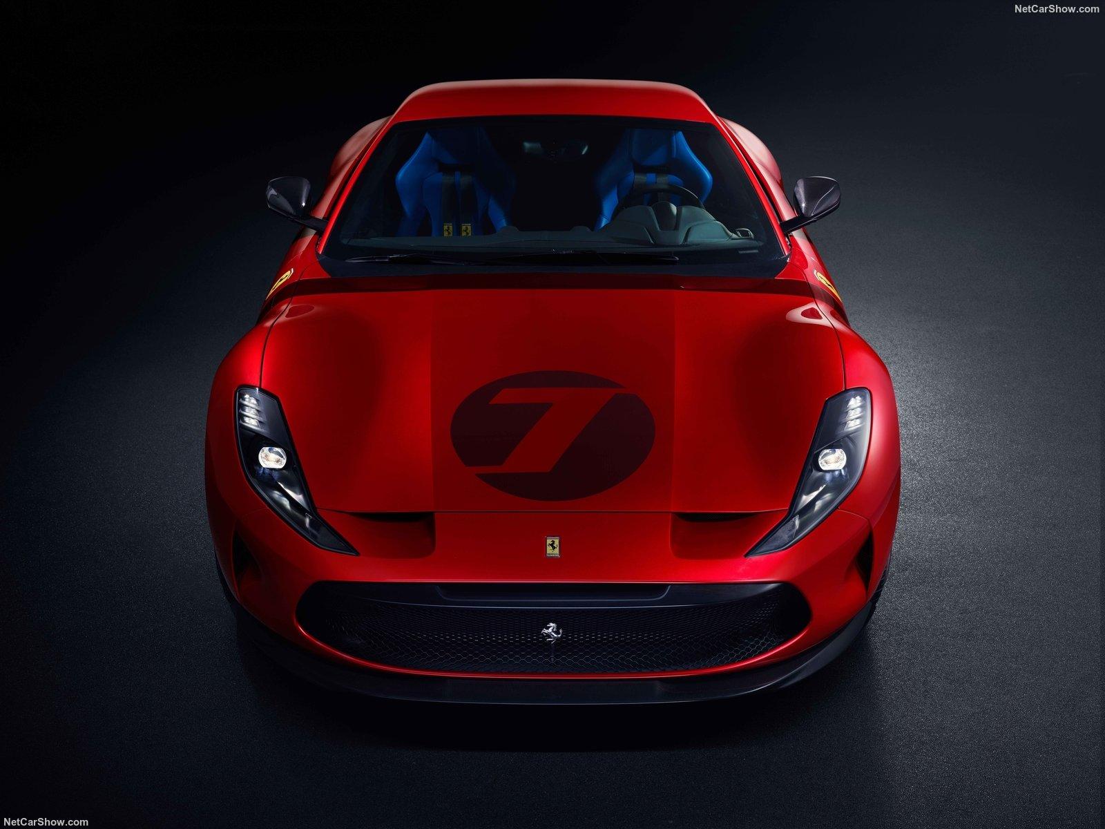 Il frontale della Ferrari Omologata
