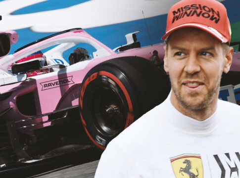 Sebastain Vettel Aston Martin 2021