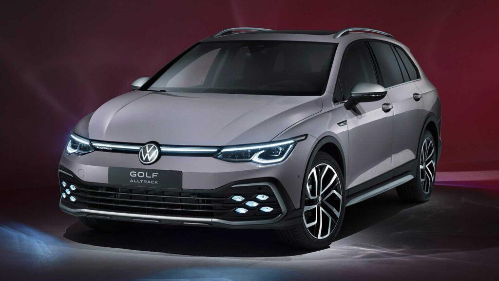 Nuova Volkswagen Golf 8 Alltrack