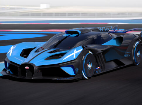 nuova Bugatti Bolide