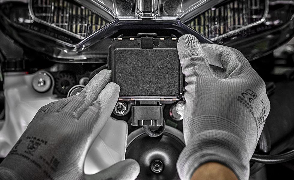 Sistema radar anteriore Ducati Credits: Ducati
