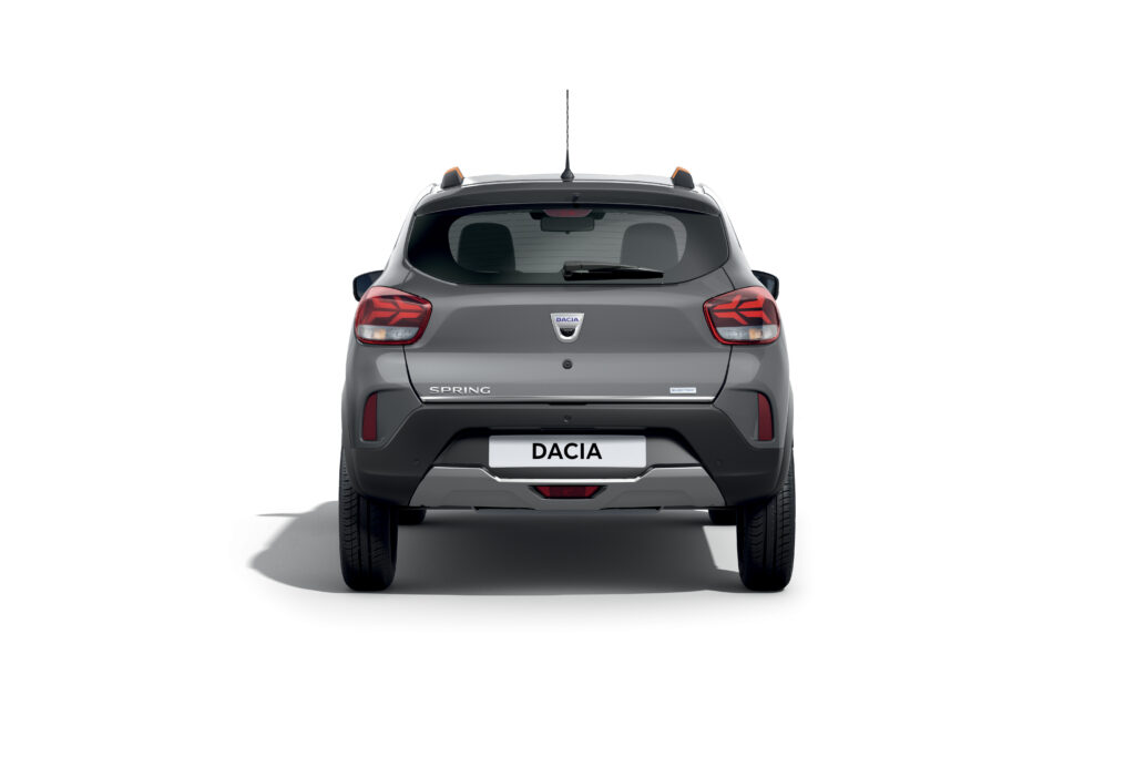 Nuova Dacia Spring Electric