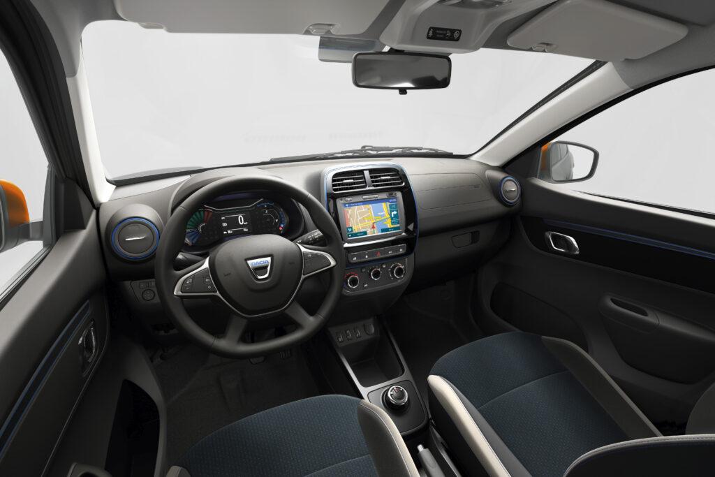 La plancia della Nuova Dacia Spring Electric