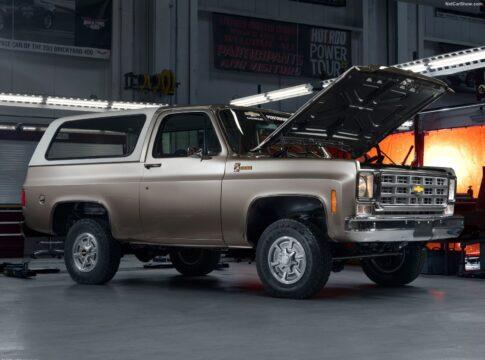Chevrolet converte il K5 Blazer del 1977 in auto elettrica