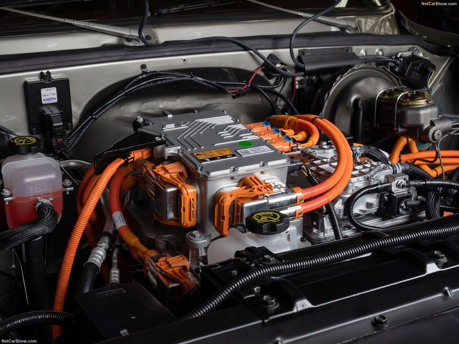 Il motore elettrico della K5 Blazer