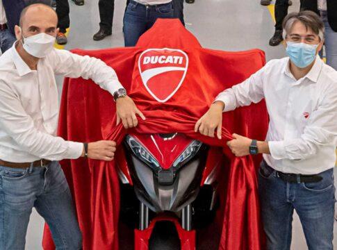 Ducati Multistrada V4. Credits: Omnimoto