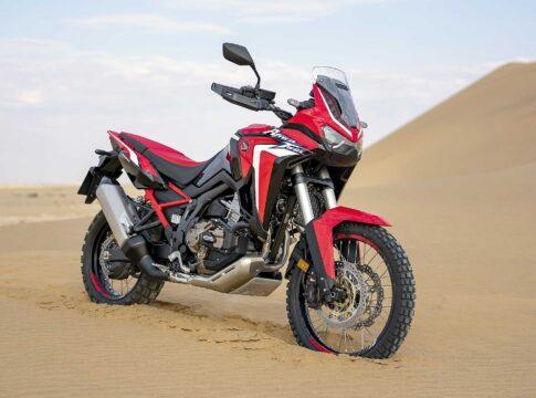 motore sovralimentato Honda Africa Twin 2020