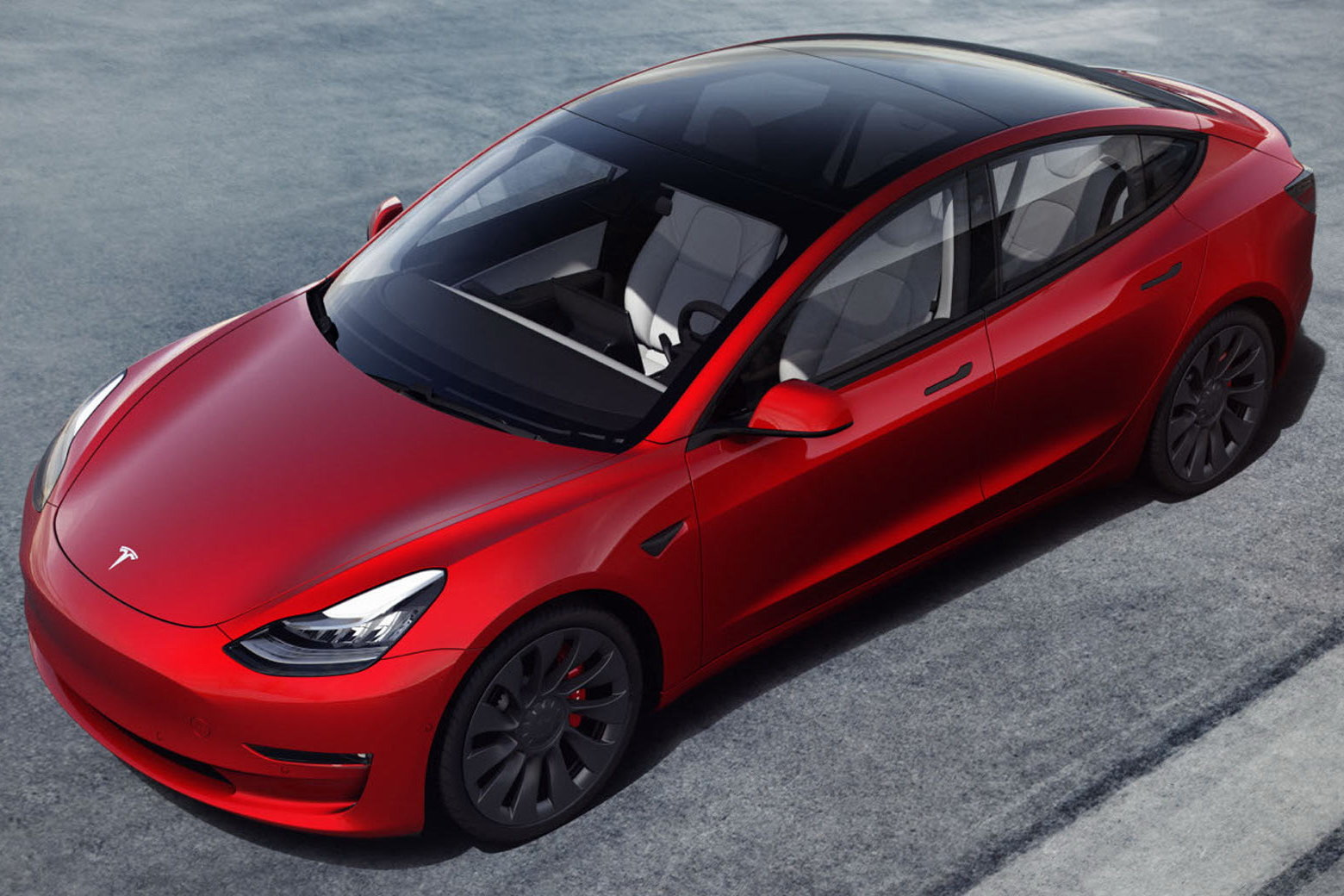 La nuova Model 3 con le varianti Standard Range Plus, Long Range e Performance