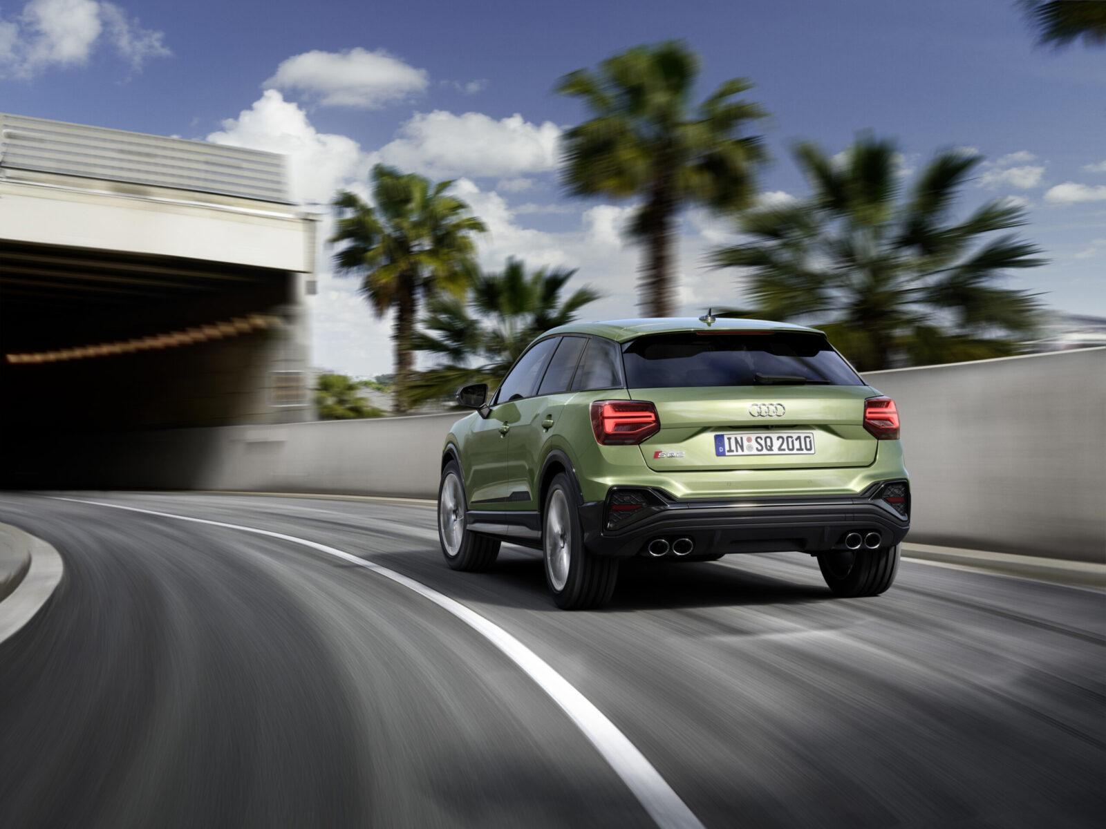 Audi SQ2 2021 restyling