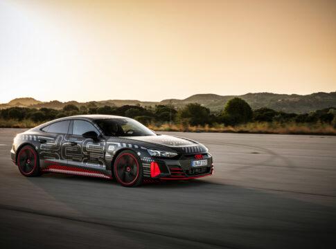 Audi e-tron GT: la prima sportiva elettrica del marchio costruita in Germania