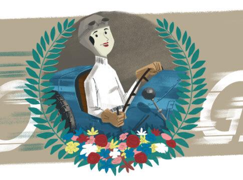 Eliška Junková, la pilota Bugatti che batté Nuvolari, omaggiata da Google