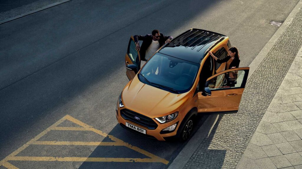 Nuova Ford EcoSport Active 2021