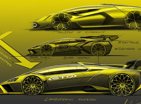 nuova Lamborghini Huracan STO