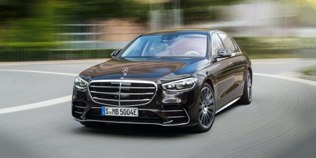 Nuova Mercedes-Benz Classe S 500 frontale