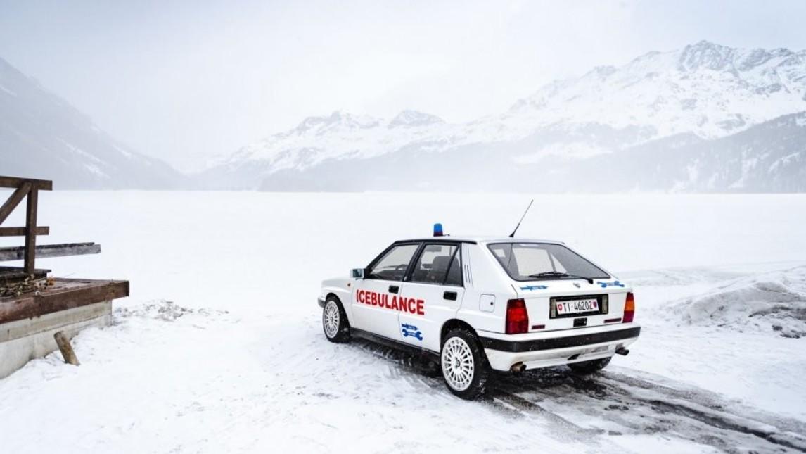 Lancia Delta HF Integrale Icebulance