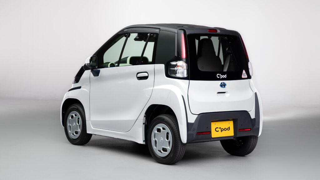 Toyota C+Pod elettrica